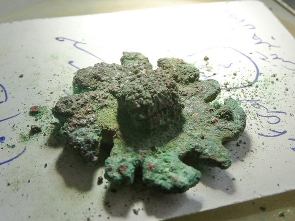 مهر باستانی ۵۰۰۰ ساله کشف شده در شهر سوخته